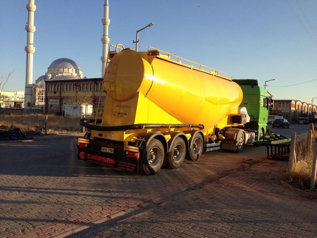 cement tanker