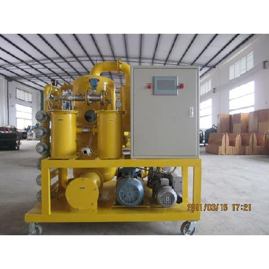 Ultra High Vacuum Transformer Oil Filtration Plant