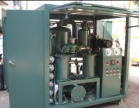 double-stage dielectric oil purifier, transformer oil filtering machin