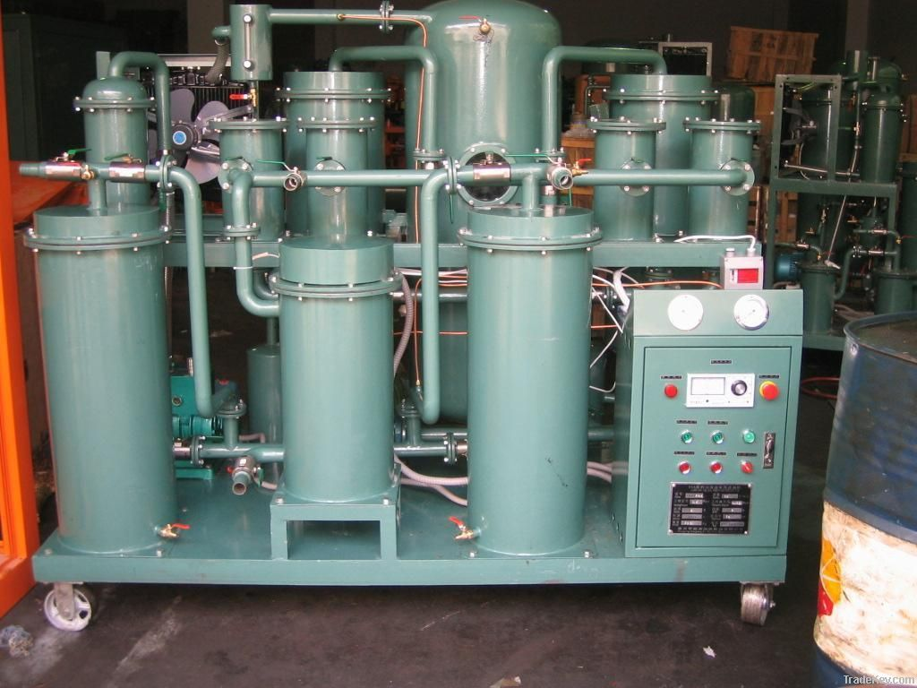 hydraulic oil treatment/waste lube oil management/ coolant oil refiner