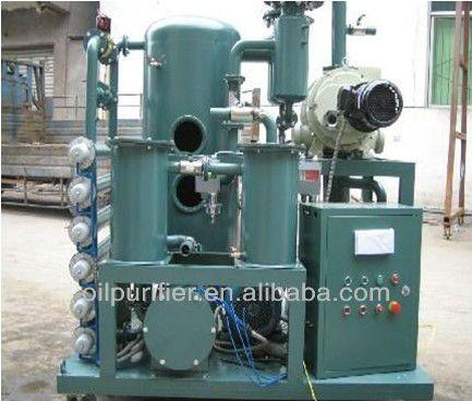 ZYD Vacuum Dehydration Transformer oil purifier system, high vacuum dehydrator ZYD
