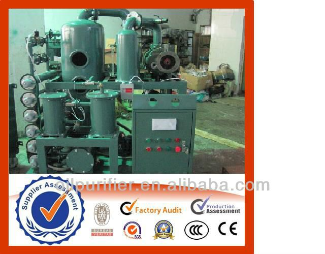 Transformer oil filtering system made by ZHONGNENG Co