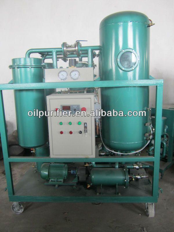 Vacuum turbine oil purifier,oil recycling machine