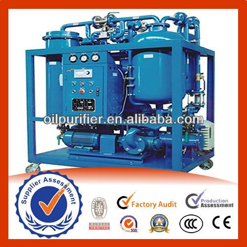 Used Turbine oil purification machine series TY/ filtering/oil purifier