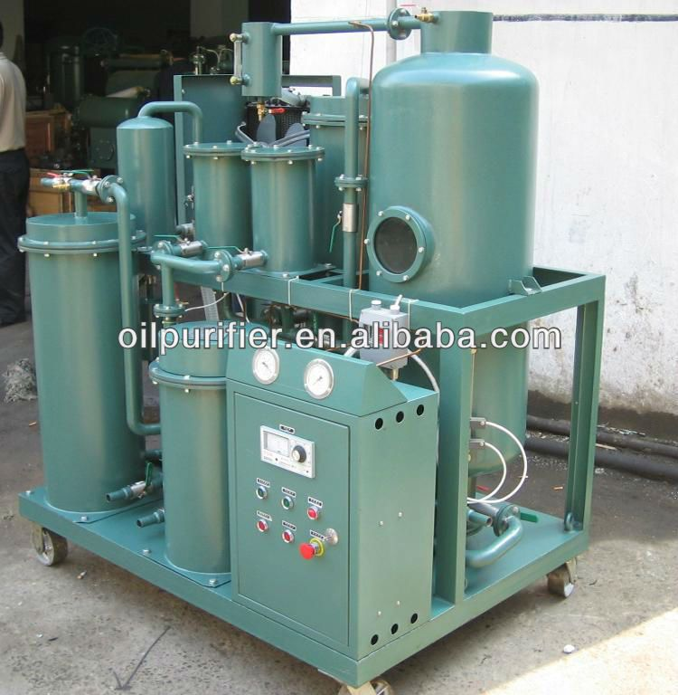 Compressor oil purifier:remove ultra-fine solids