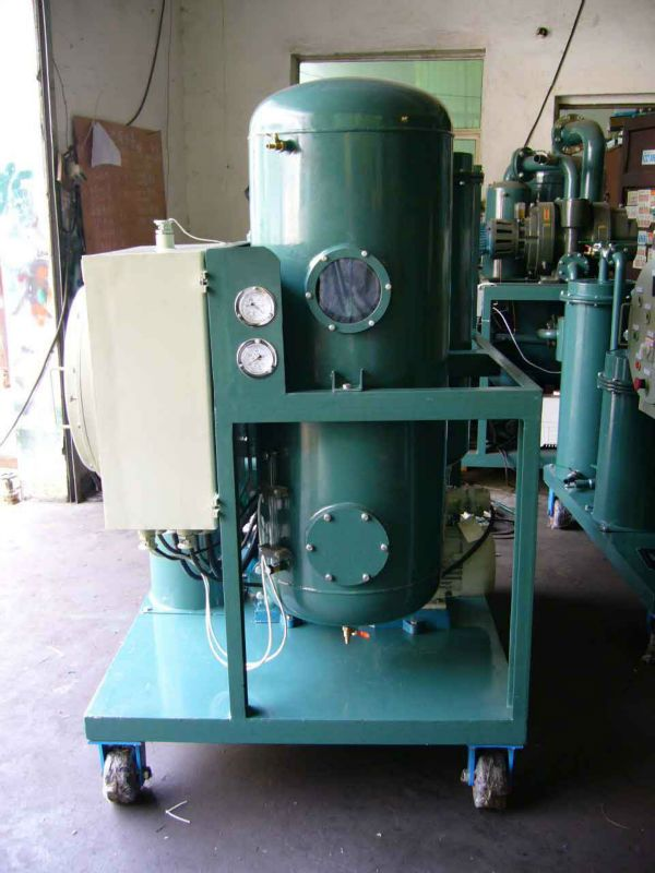 Industrial Oil Filtering Unit