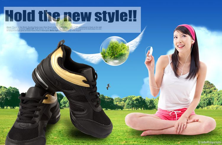 GSN 2012 spring soft soles and uppers dance shoes