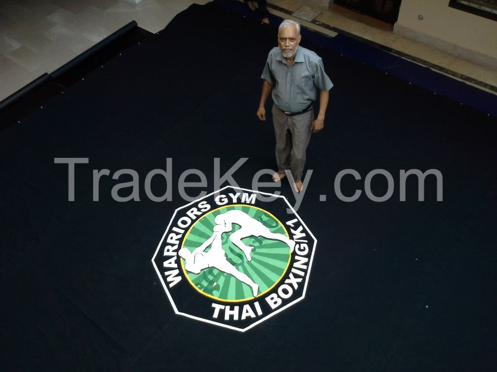 wrestling canvas mat cover