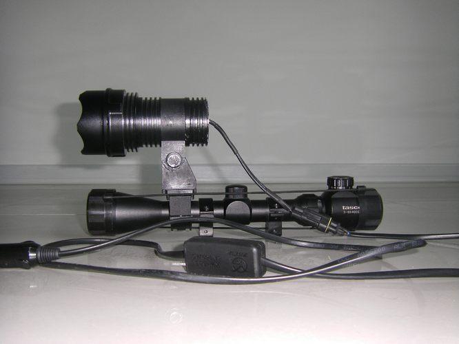 35W HID Scope Mounted Hunting Shotgun Spotlight