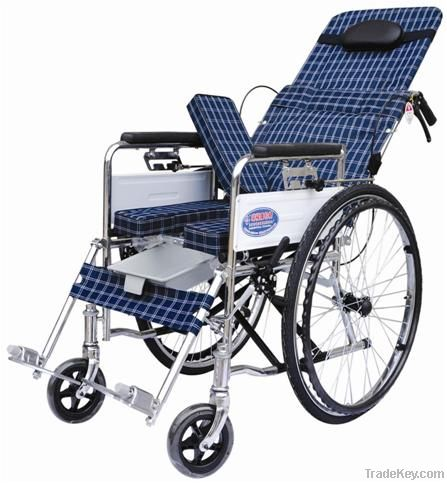 JARY Steel Wheelchair