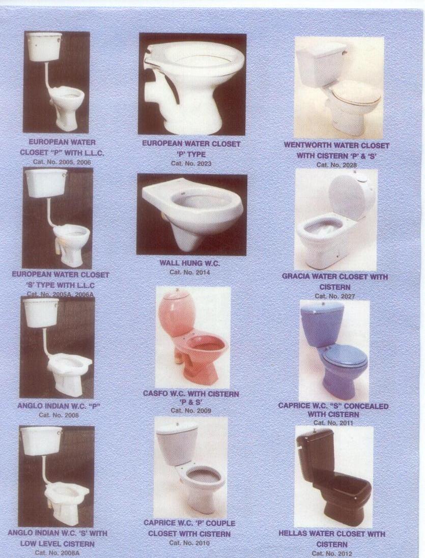 Sanitary WARES, CERAMIC TILES