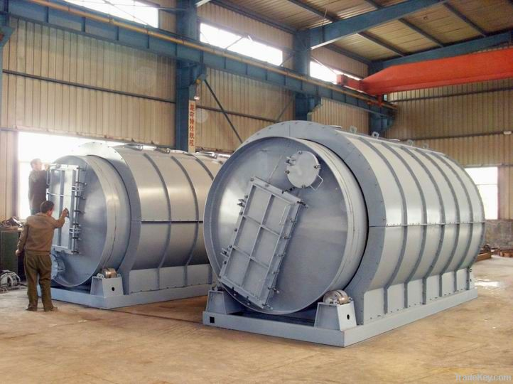 Waste Tyre/Plastic Pyrolysis Machine