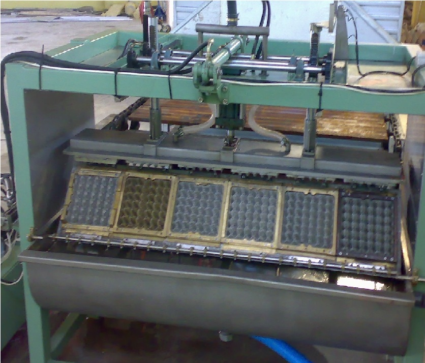 Egg Tray Machine Six molds low-frequency