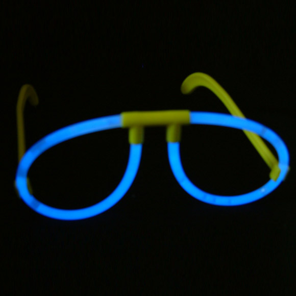 LED Plastic Glowing Eye Glasses Party