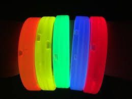 High Quality Triple Wide Glowing Bracelets