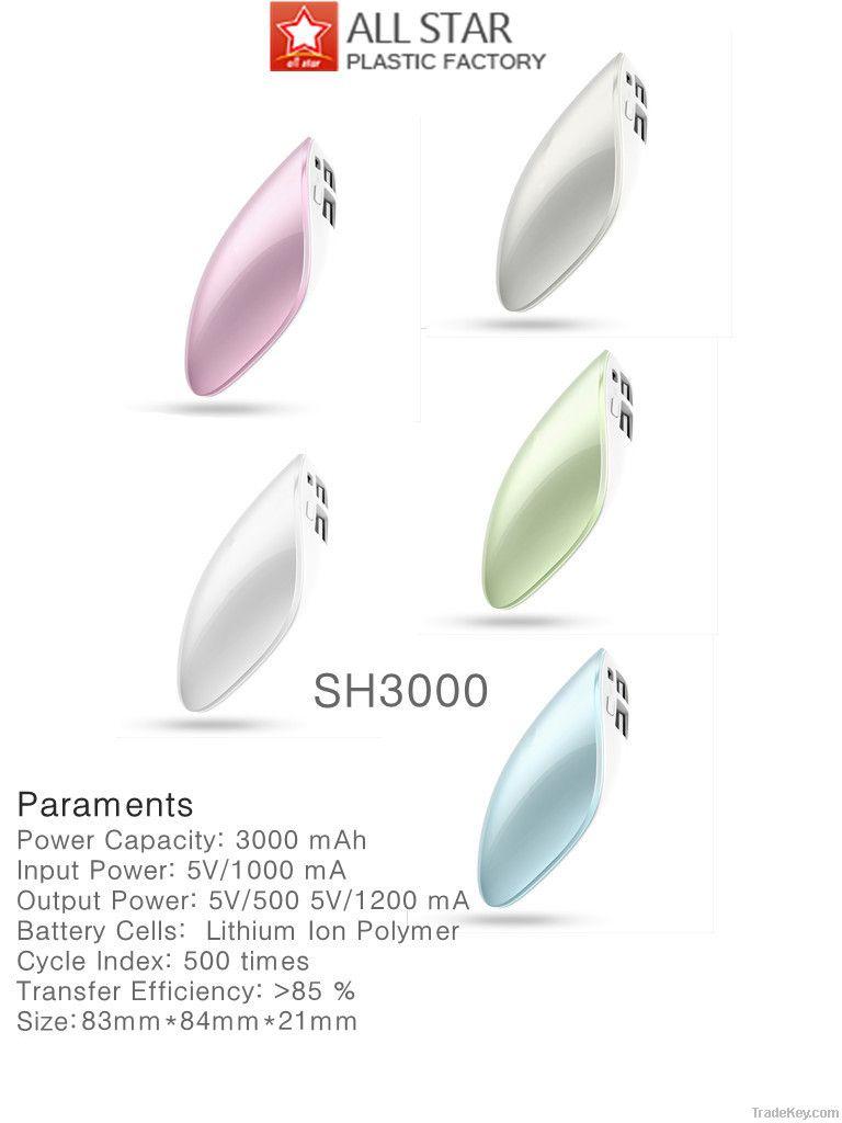 Fashinable Power Bank 3000mAh@Factory Price