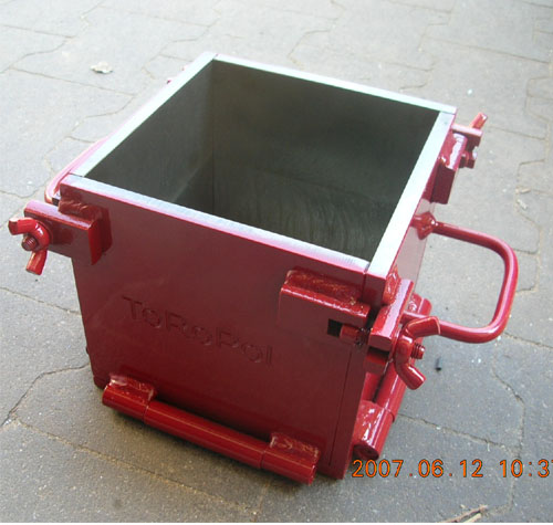 cube mould, VJ cube mould, cement test mold, plastic cube mould