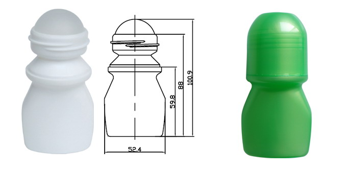 Plastic Roll On Bottle