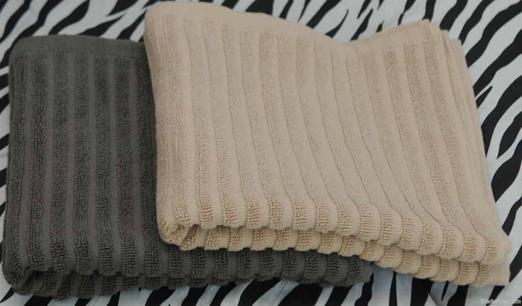 Ribbed Terry Towels
