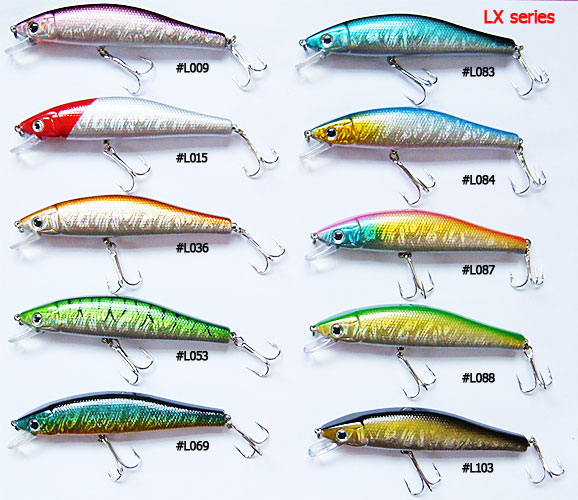 High quality hard plastic fishing lures - crankbaits
