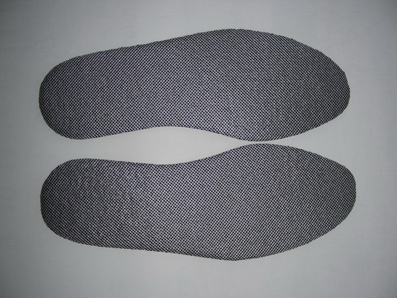 Washable, Sterile Bamboo Activated Carbon Impregnated Insole