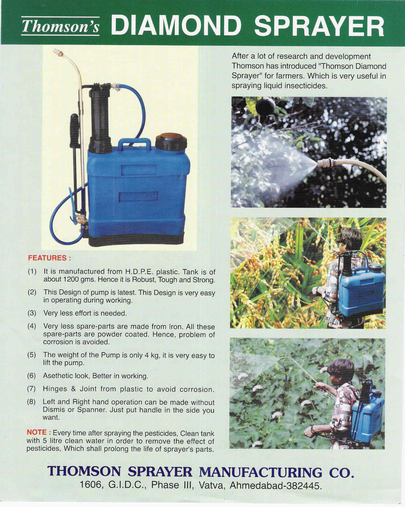 Knapsack Sprayers