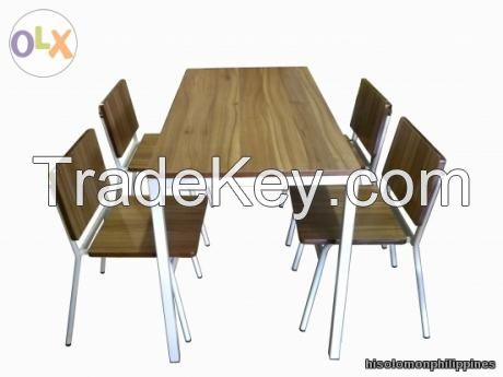 DINING TABLE WITH CHAIRS(SET)