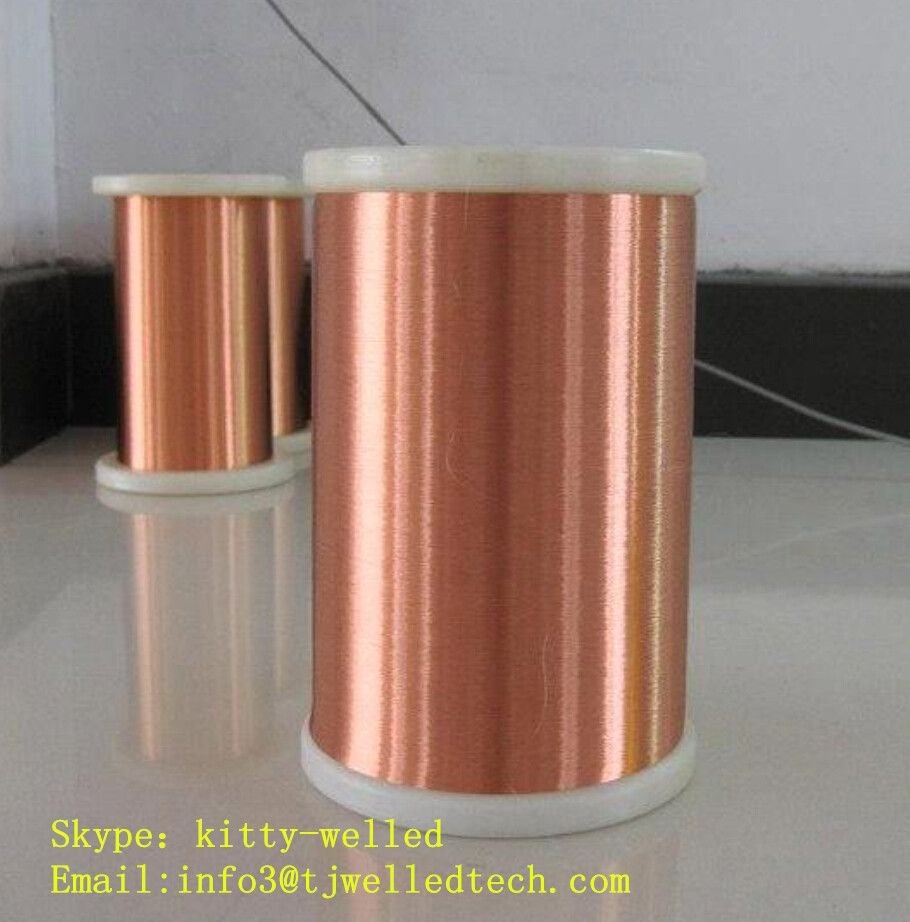 Litz wire, stranded enameled copper magnet wire