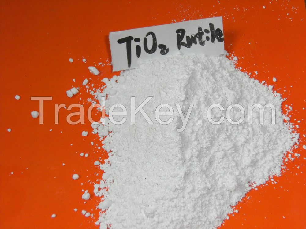 Rutile Titanium Dioxide (TiO2) for ink, paint, coating,palstic, masterbatch