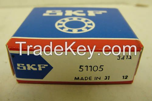 high quality SKF brand 51105 thrust ball bearing