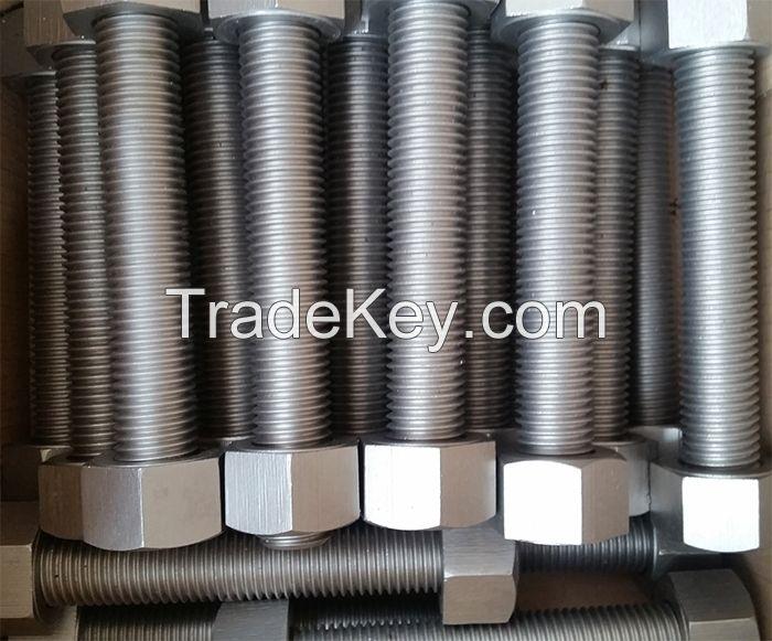 ASTM A453 Gr.660A/B A-286, 1.4980 Hex bolt, nut, stud bolt, fasteners