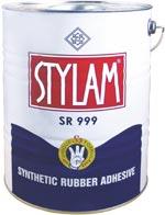 STYLAM SR 999 CONTACT ADHESIVE