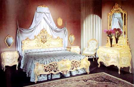 Bed Room Baroque Bedroom collection