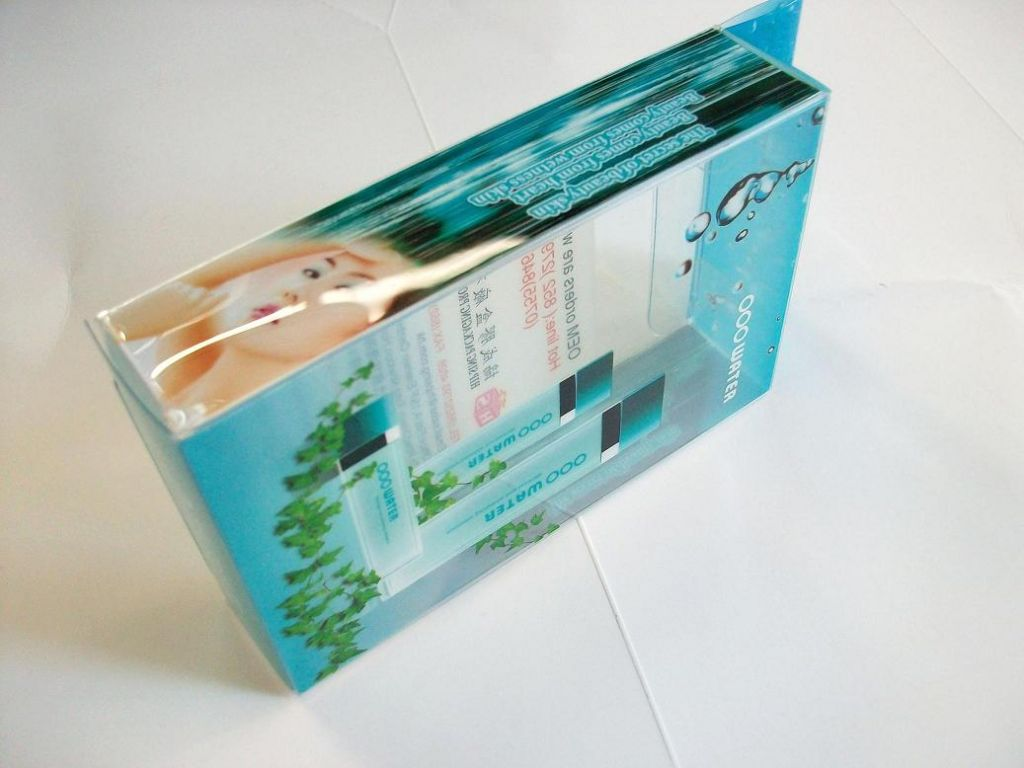 PET Skin Care Products Packaging Boxes