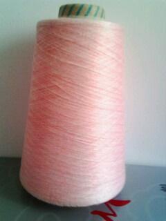 cotton/viscose/nylon yarn top dyed ring spun yarn