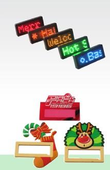 led name card LED badge  led mini display