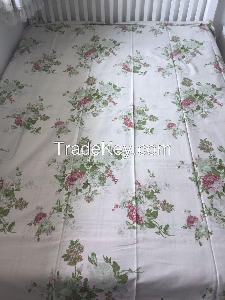 Hemp Printing Bed Sheet