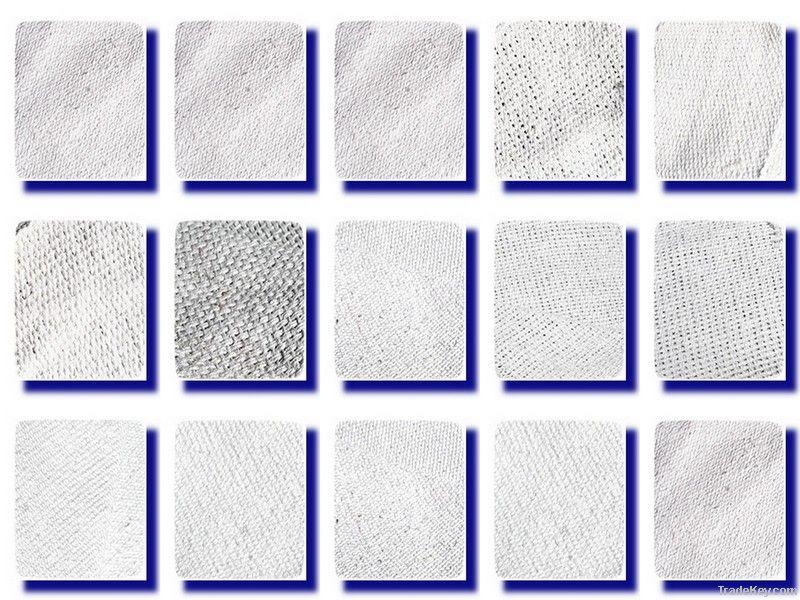 Asbestos cloth, cloth