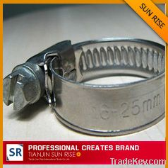 all zinc-plated GM hose clamp