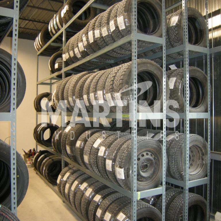 5 Tier Tire Shelving