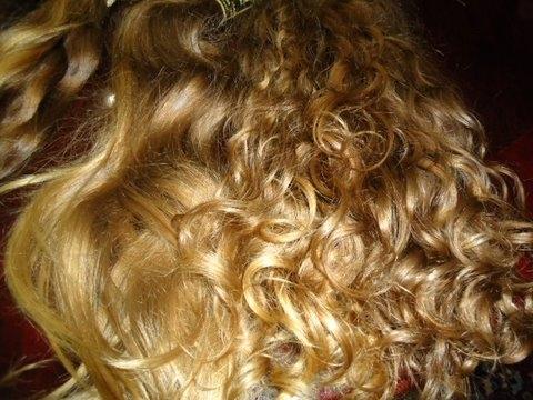 Brazilian Hair Grade AAA Blond Curly