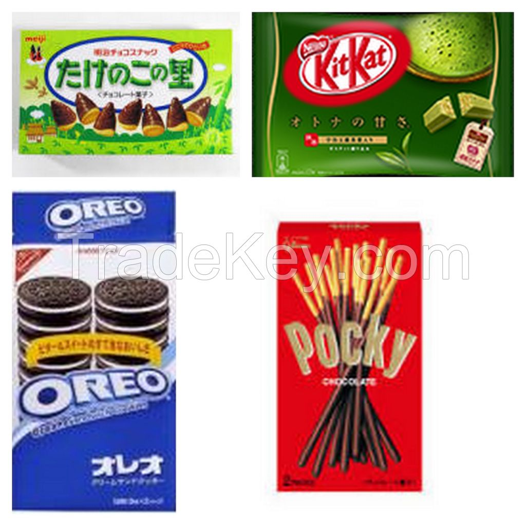 Highly Demand Japanes Snacks and Candies from Japan!!