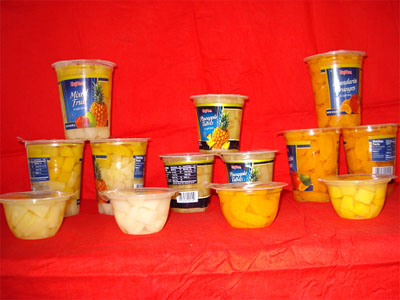 mandarin oranges cups in L/S