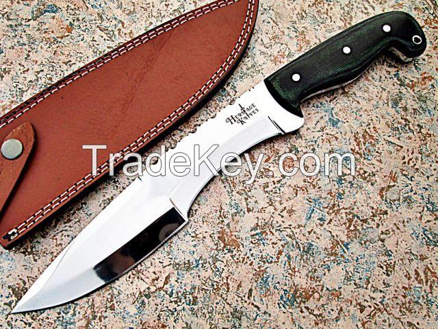 D2 Tool Steel Custom Handmade Fixed Blade Knife