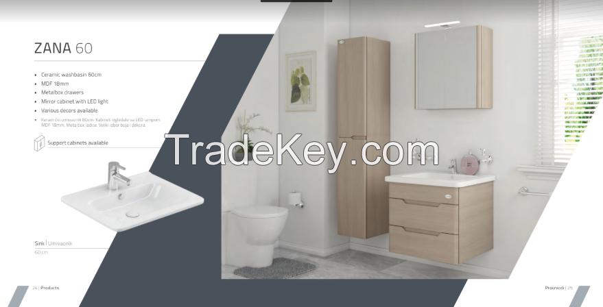 Bath Room Cabinets - High-Tech Design - Zana