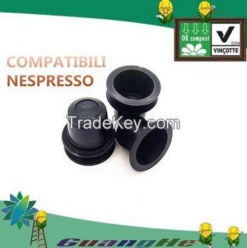 100% biodegradable PLA coffee capsule