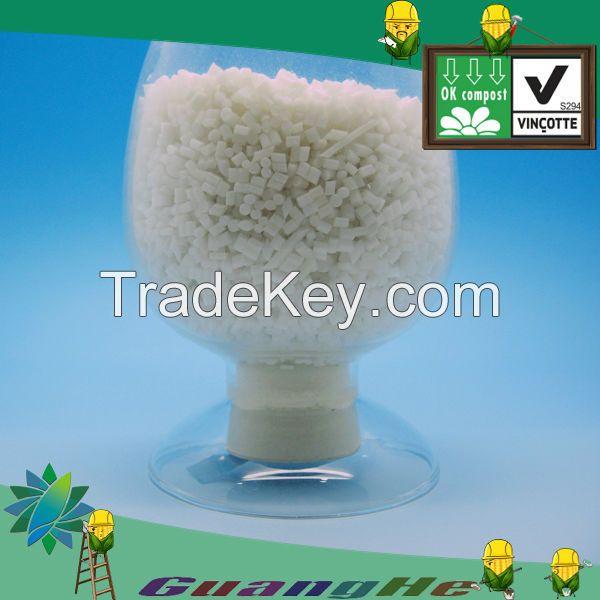 GH701 Film PLA Resin Raw Material for plastic/PLA granule for biodegradable bags