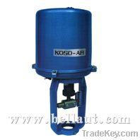 Electric valves, motorized valves, electric valve actuator, modulating