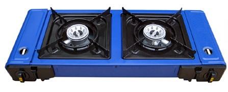 Twins portable gas stove