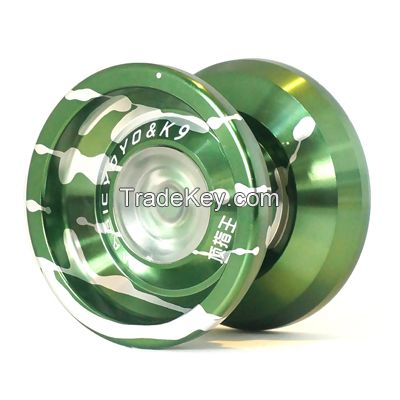 MAGICYOYO K9, high quality metal yoyo with hubstack